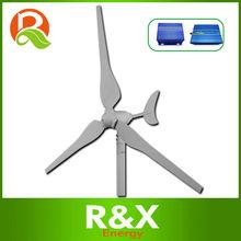 3 fase de viento generador de turbina de 50w. Se combinan con el viento/híbrido solar contoller+inverter.