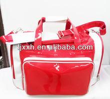 2014 the newest fashion folding big PU sport travel bag