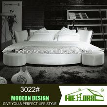 3022# round platform bed king size round bed on sale