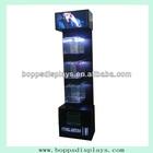 Hot sale wall mounted large nail polish display stand