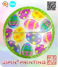 kawaii Easter paper plate