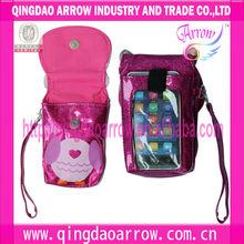 Multi-function cartoon animal mobile phone bag