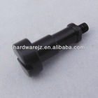 M3 Slotted Drives black anodized aluminum screw