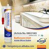 Anti-Fungus Acetate Curing Fast Curing Silicone Based Bathroom Sealant