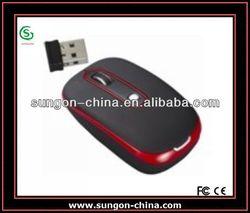 Unique 2.4G Wireless Mouse with Nano Receiver