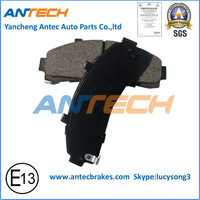 D652 brake pad for FORD transit