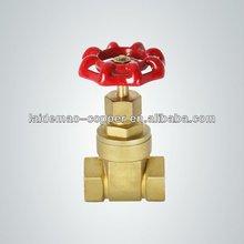 Hot selling brass locking gate valves