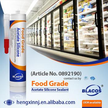 Food Grade Non-Toxic Fda Approved Silicone Sealant