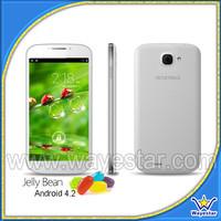 2014 Newest Cheap 3G QuadCore Smart Telephone Portable/512MB Ram 4G Rom 2 Cameras WIFI GPS 2SIM