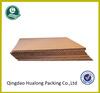 Thin e-flute corrugated cardboard sheet