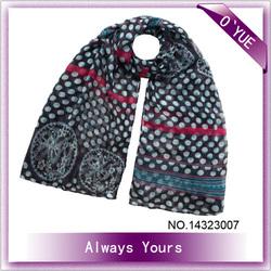 Polka Dots Multi Wear Way Fashion Shawls and Scarves