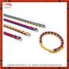 Fashion bicolor braided rope dog collar
