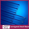 color corrugated steel sheet/zinc roofing sheet/galvanised corrugated steel sheet
