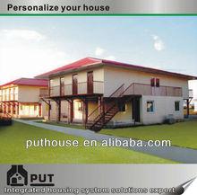 2 storey modular home container