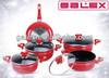 Aluminum non-stick pots and pans
