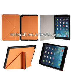 PU/Leather Stand Folio Magnetic Case Wake/ UP For Apple iPad Mini