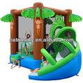 La selva castillo hinchable/casa de brinco inflables