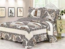 Poly Cotton Patchwork Quilt Set