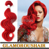 2013 New Products Wholesale Red Body Wave Virgin Brazilian Hair Extension