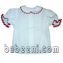 Trendy baby white plain T-shirt