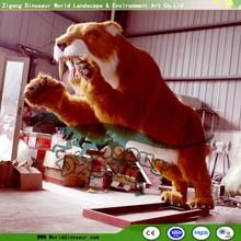 Fun Amusement Parks Large Simulation Motorized Animals