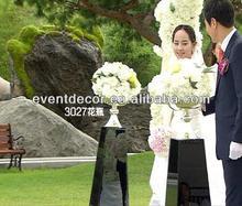 Gümüş düğün centerpeces, düğün dekorasyon ferforje çiçek standları( h20cm)