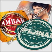 Beer mat / custom photo printing paper coaster