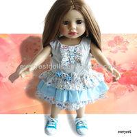 "Offer custom-made service 18"" american girl doll/ China wholesale custom vinyl doll/ american girl doll 18 inch"