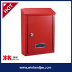 Galvanized steel with powder coating wall mounted mailbox letter box
