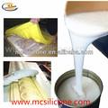 de yeso del molde de fundición de la fabricación de goma de silicona líquida