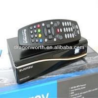 Original Sunray4 800se Sr4 Triple Tuner with DVB-S (S2) / DVB-C /T + sim 2.10 card+wifi in white or black satellite receiver