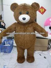 stand mascot doll for advertisement bear mascot
