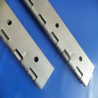long piano hinge with spring