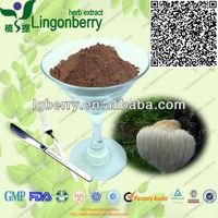 GMP& Organic hericium erinaceus extract powder polysaccharides 10%~50%