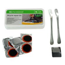 New SAHOO 21338 Bike Repair Set Tool Bag Mini Pump Patch Kits Tire Lever for Bicycle