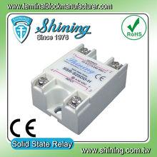 Ssr-s25dd-h para calentador DC DC símbolo de entrada 25A relé de estado sólido