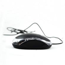black color comfortable usb mini optical mouse