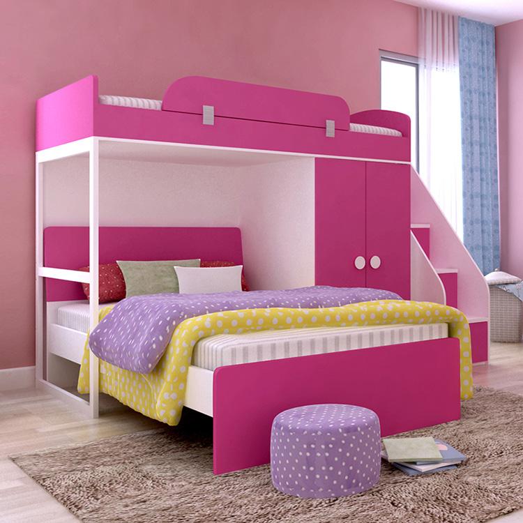 niños litera cama de bebé conjunto de muebles de dormitorio muebles