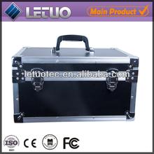 Aluminum black high quality suitcase or flight case