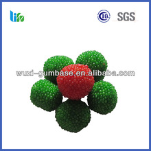 Best selling color strawberry bubble gum flower shaped vivident gum buy strawberry