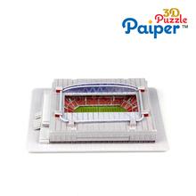Paper brazil 3d stadium model educa puzzles