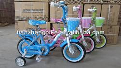 Tianzheng lovely pink girls kids bike TZ-B5056 with white wall tyre,children bicycle,bmx bike CE passed