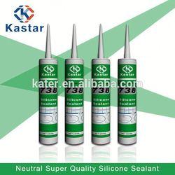 China cheap green color silicone sealant