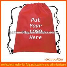 customized sports small nylon mesh drawstring bag
