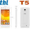 312 SALE Cheap Phone 4.7 inch THL T5 dual Core MT6572W 1.2Ghz Android 4.2