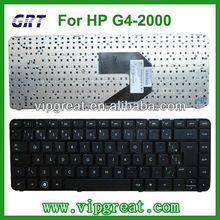 BR layout laptop keyboard for HP Pavilion G4-2000 black