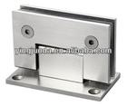 best 90 degree double side galss clamp bathroom glass door clamp