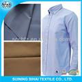venta al por mayor de bambú del algodón tela de la camisa de vestir de tela