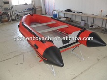 8 persons Inflatable rescue Boat 4.3m PVC boat