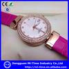 China wholesale women watches, leather bracelet fashion lady watch 2014